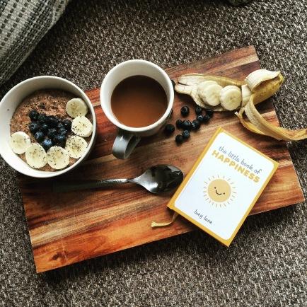 Hot Chia & Oats Porridge