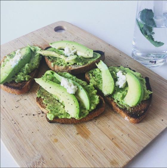 Avocado & Feta on toast